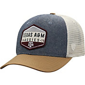 Top of the World Men's Texas A&M Aggies Grey/Brown/White Wild Adjustable Hat