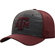 Top of the World Men's Texas A&M Aggies Grey/Maroon Pepper 1Fit Flex Hat