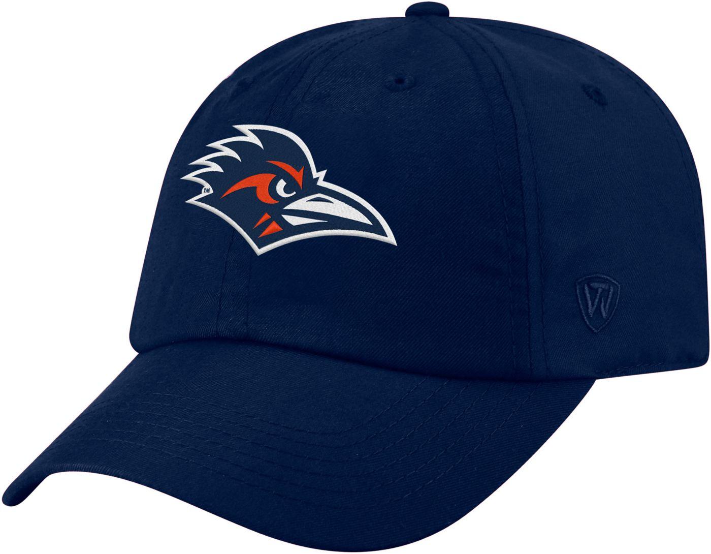Top of the World Men's UT San Antonio Roadrunners Blue Staple Adjustable Hat