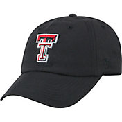 Top of the World Men's Texas Tech Red Raiders Staple Adjustable Black Hat
