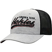 Top of the World Men's Virginia Tech Hokies Grey/Black Cutter Adjustable Hat