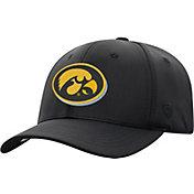 Top of the World Men's Iowa Hawkeyes Phenom-Bob 1Fit Flex Black Hat
