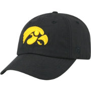 Top of the World Men's Iowa Hawkeyes Staple Adjustable Black Hat