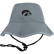 Top of the World Men's Iowa Hawkeyes Grey Bucket Hat