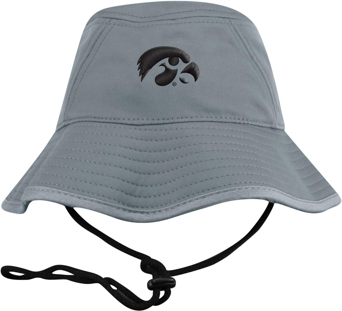 Top of the World Men's Iowa Hawkeyes Grey Bucket Hat