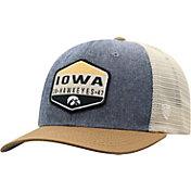 Top of the World Men's Iowa Hawkeyes Grey/Brown/White Wild Adjustable Hat
