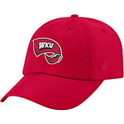 Top of the World Men's Western Kentucky Hilltoppers Red Staple Adjustable Hat
