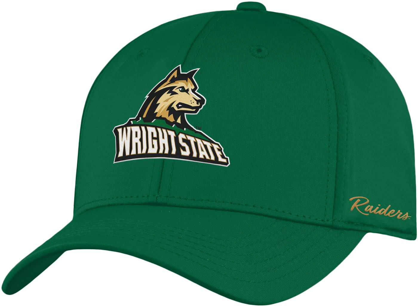Top of the World Men's Wright State Raiders Green Phenom 1Fit Flex Hat