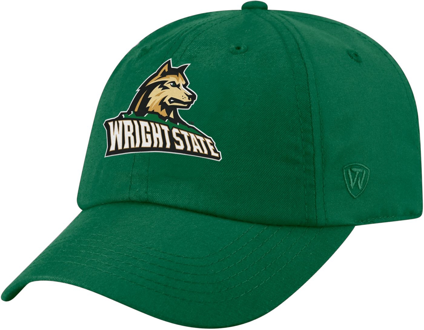 Top of the World Men's Wright State Raiders Green Staple Adjustable Hat