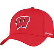 Top of the World Men's Wisconsin Badgers Red Phenom 1Fit Flex Hat
