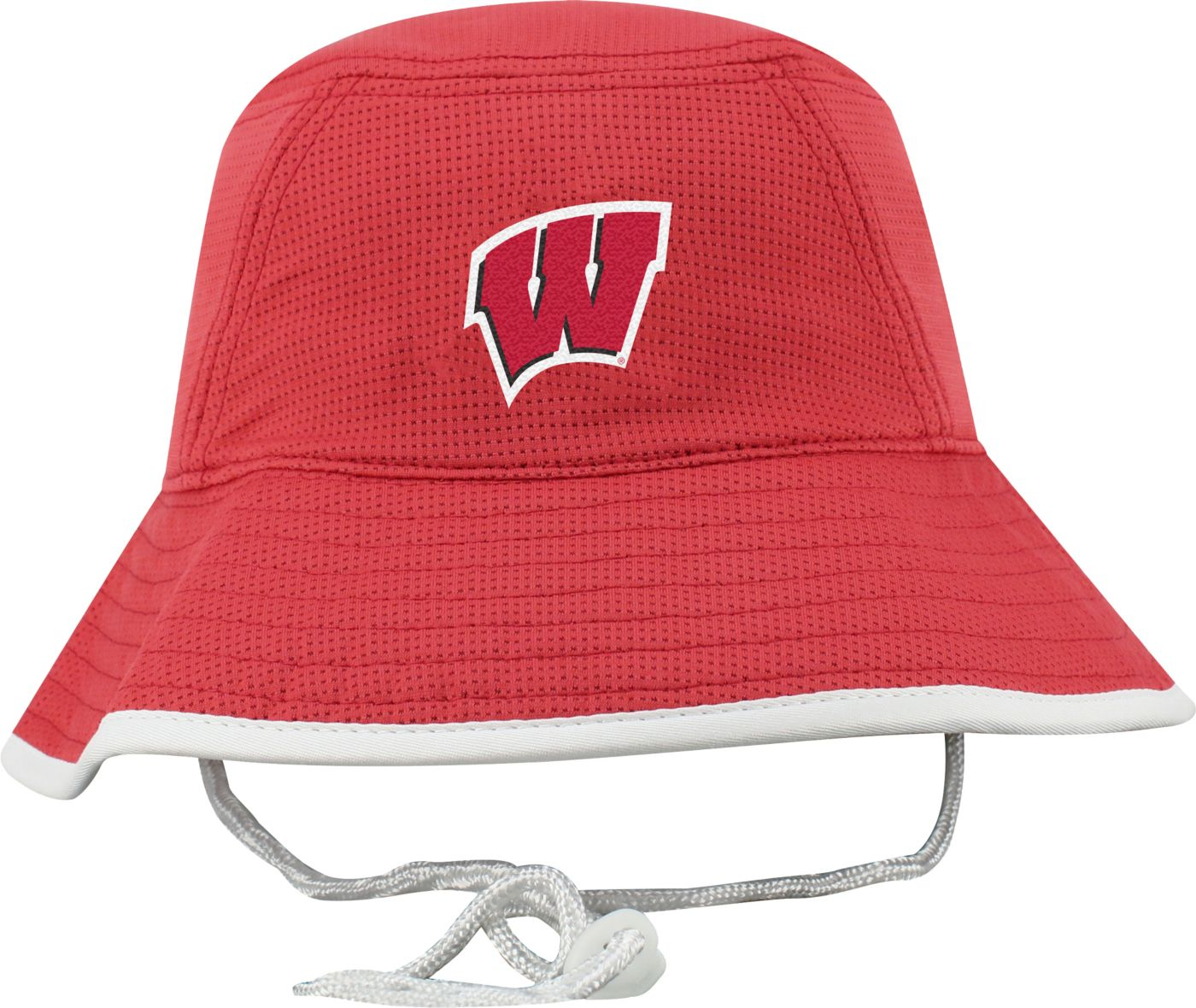 Top of the World Men's Wisconsin Badgers Red Pro Bucket Hat