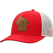Top of the World Men's Wisconsin Badgers Red/Grey Precise Trucker Adjustable Hat