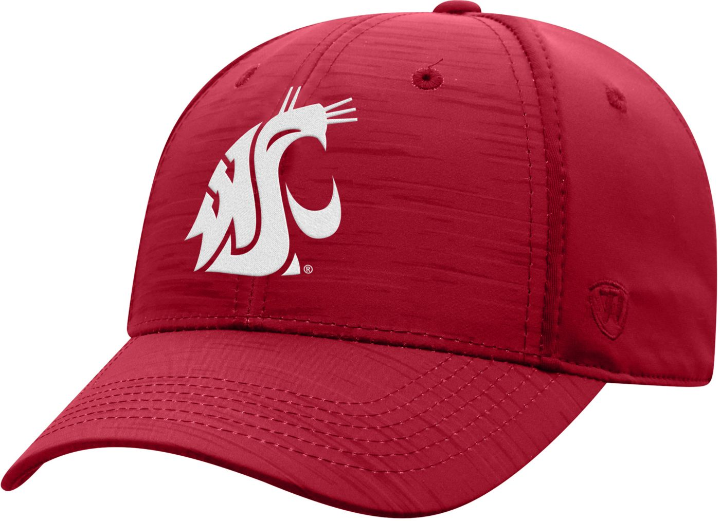 Top of the World Men's Washington State Cougars Crimson Intrude 1Fit Flex Hat