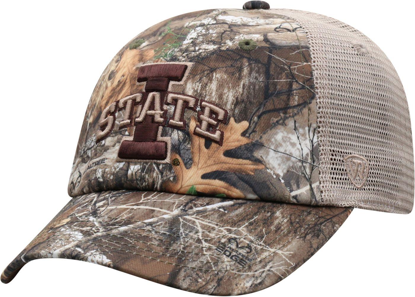 Top of the World Men's Iowa State Cyclones Camo Acorn Adjustable Hat