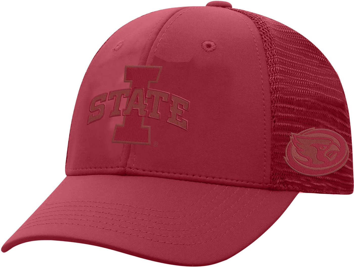 Top of the World Men's Iowa State Cyclones Cardinal Dayblaster 1Fit Flex Hat