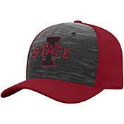 Top of the World Men's Iowa State Cyclones Grey/Cardinal Pepper 1Fit Flex Hat