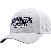 Top of the World Men's West Virginia Mountaineers Grey Notch Adjustable Snapback Hat