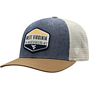 Top of the World Men's West Virginia Mountaineers Grey/Brown/White Wild Adjustable Hat
