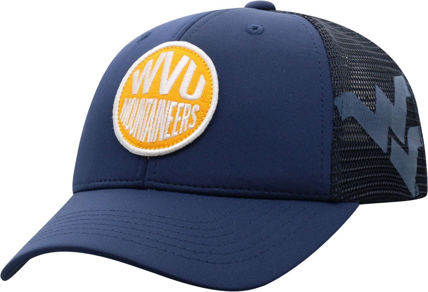 Top of the World Youth West Virginia Mountaineers Blue Ace Adjustable Hat