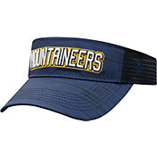 Top of the World Men's West Virginia Mountaineers Blue Intrude Visor