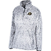 Top of the World Women's Colorado Buffaloes Grey Coast to Coast Sherpa Jacket