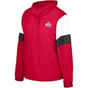 Scarlet & Gray Women's Ohio State Buckeyes Scarlet Dynamite Jacket