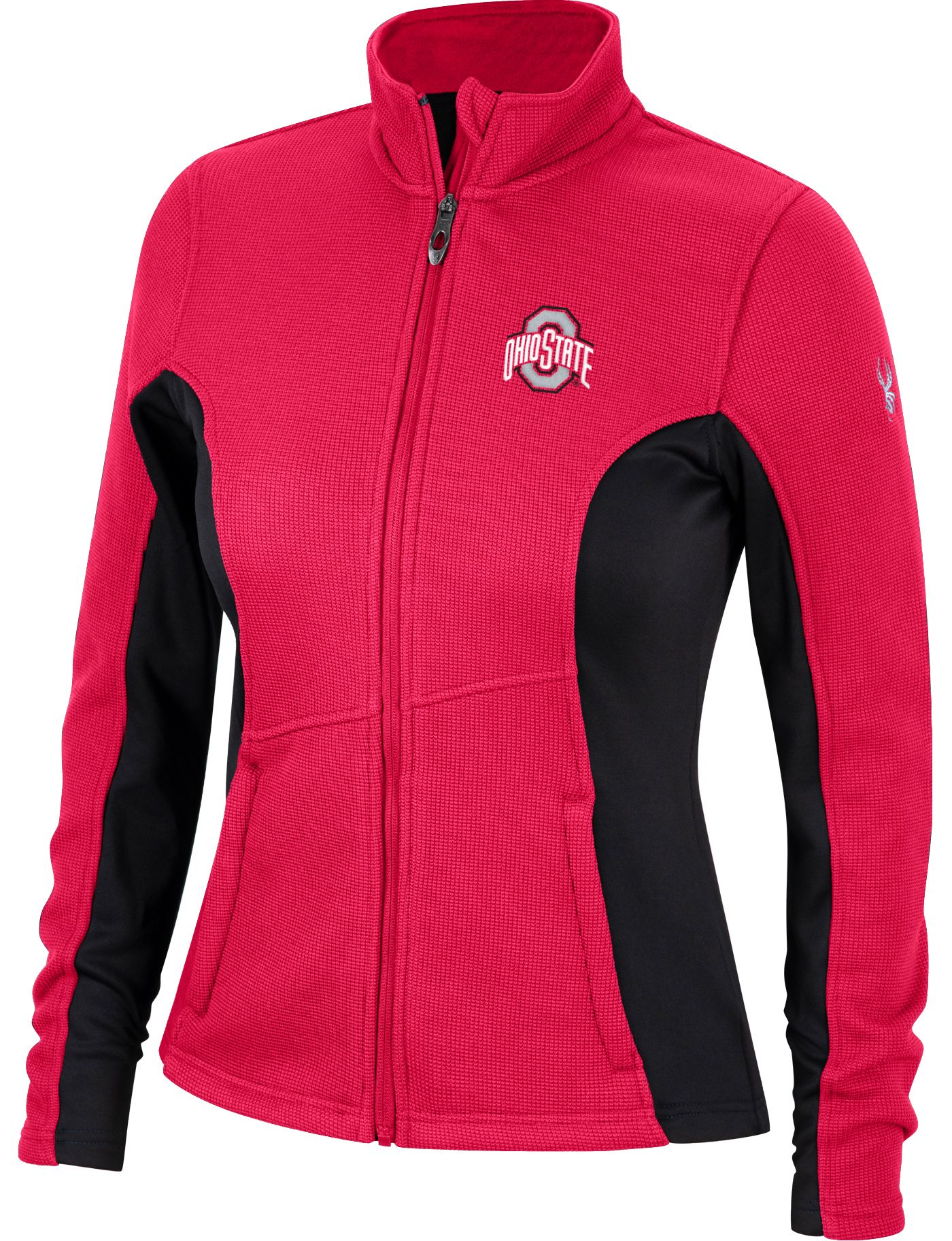 Spyder Women's Ohio State Buckeyes Scarlet Constant Full-Zip Fleece Jacket