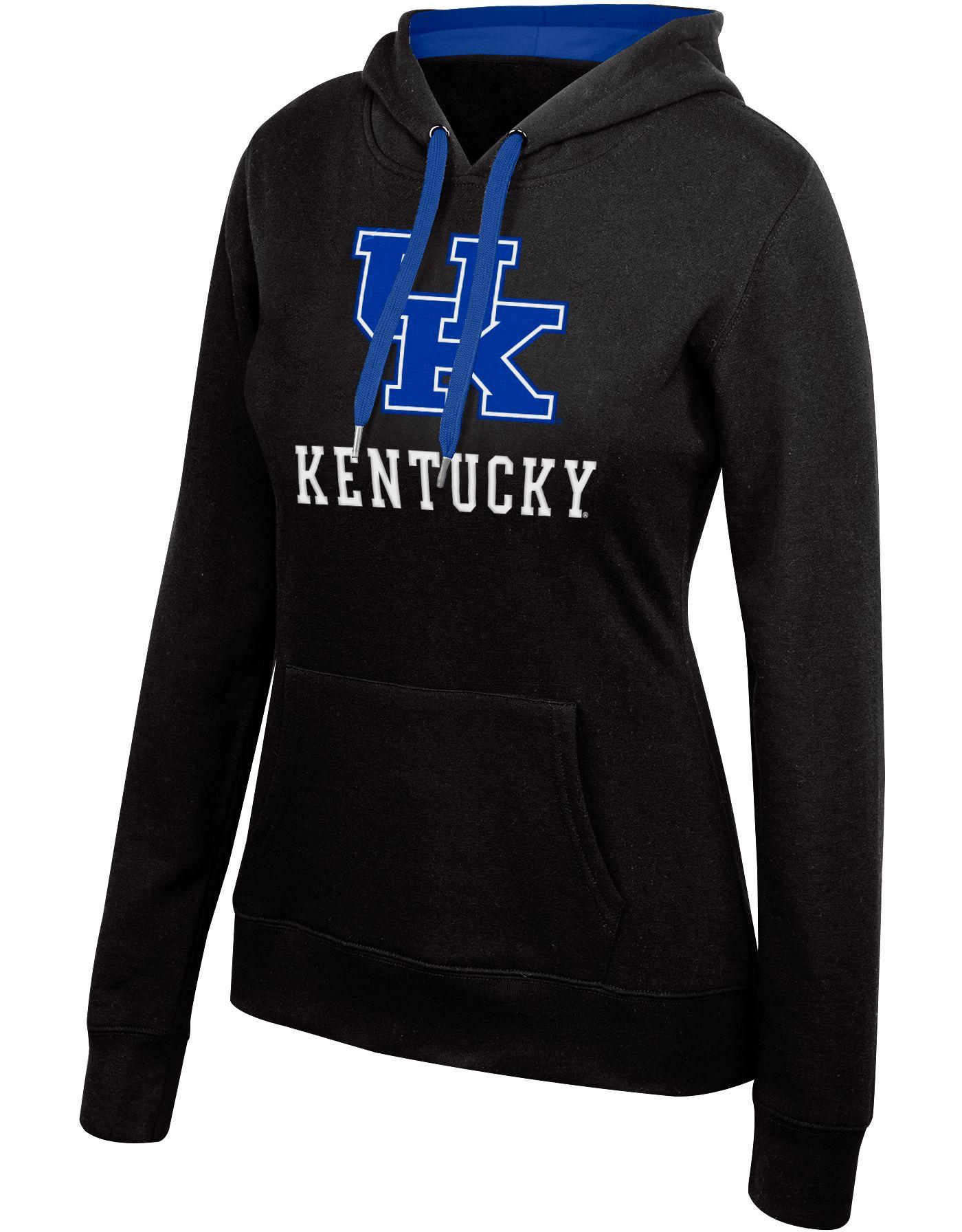 Top of the World Women's Kentucky Wildcats Essential Black Hoodie