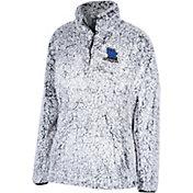 Top of the World Women's Kentucky Wildcats Grey Coast to Coast Sherpa Jacket