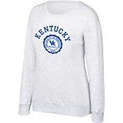 Top of the World Women's Kentucky Wildcats Grey Essential Crew Neck Sweatshirt