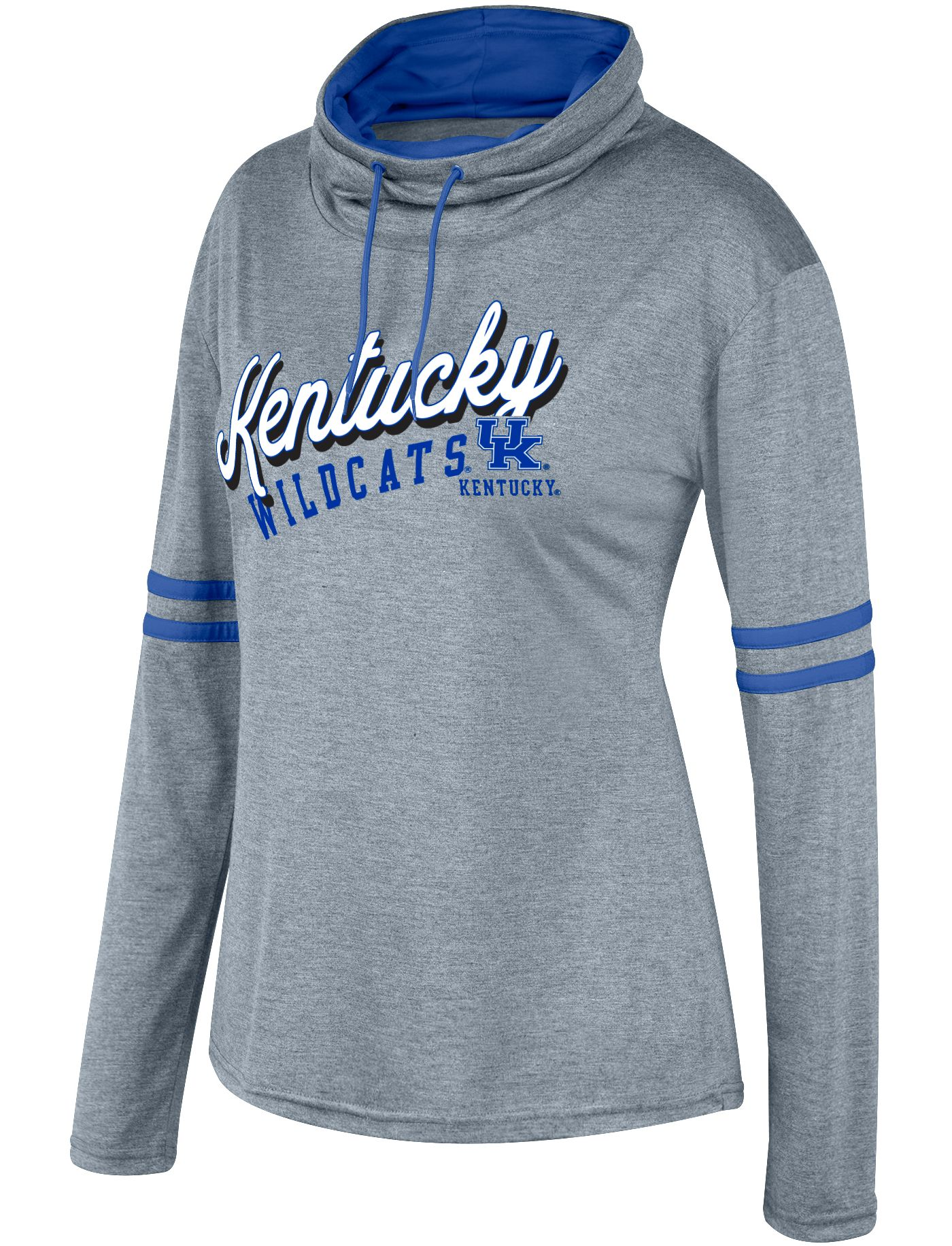 Top of the World Women's Kentucky Wildcats Grey Destiny II Long Sleeve T-Shirt