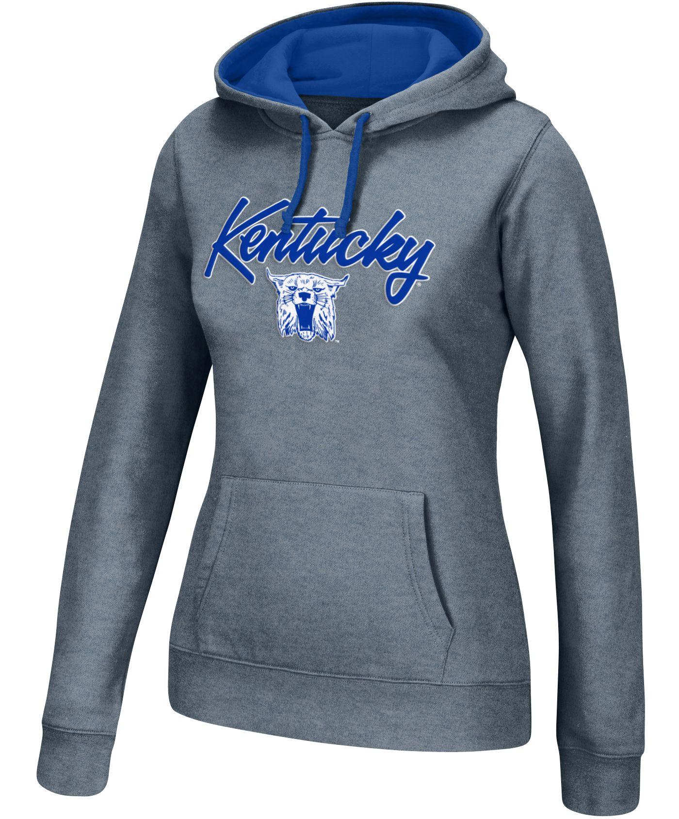 Top of the World Women's Kentucky Wildcats Grey Essential Hoodie