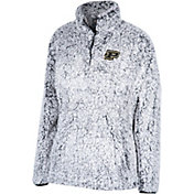 Top of the World Women's Purdue Boilermakers Grey Coast to Coast Sherpa Jacket
