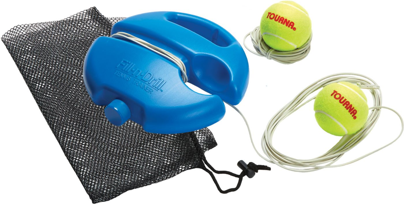 Tourna Fill and Drill Portable Tennis Trainer