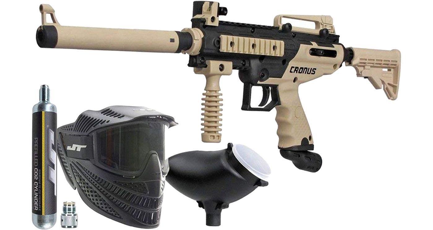 Tippmann Cronus Combat Paintball Gun Kit