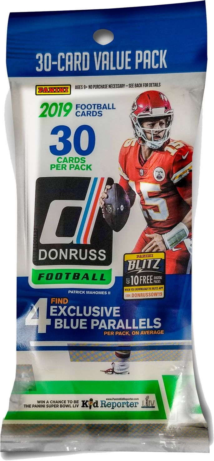 Panini Nfl 2019 Trading Card Pack Dick S Sporting Goods