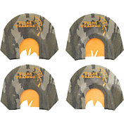 Tom Teasers 4 Pack Mouth Turkey Calls