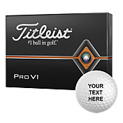 Titleist 2019 Pro V1 Double Number Personalized Golf Balls
