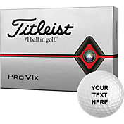 Titleist 2019 Pro V1x Double Number Personalized Golf Balls