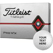 Titleist 2019 Pro V1x Personalized Golf Balls