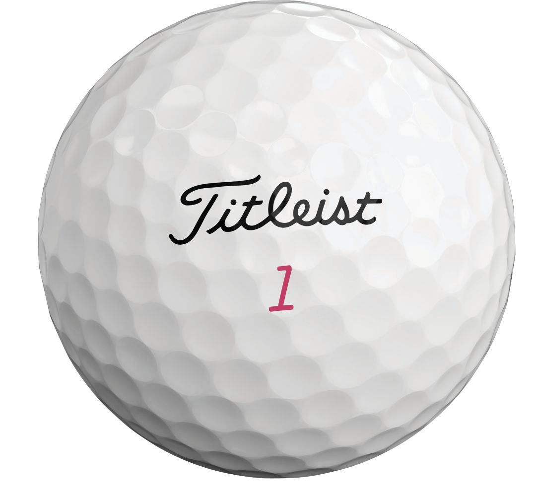 Titleist 2019 Pro V1 Pink Number Personalized Golf Balls Dick S