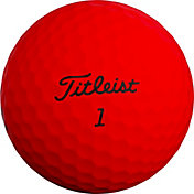 Titleist 2019 TruFeel Matte Red Golf Balls