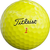 Titleist 2019 TruFeel Yellow Golf Balls