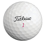 Titleist 2019 Pro V1 Pink Number Golf Balls