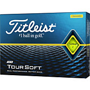 Titleist 2020 Tour Soft Yellow Golf Balls