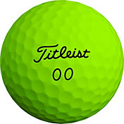 Titleist 2020 Velocity Double Numbers Matte Green Golf Balls