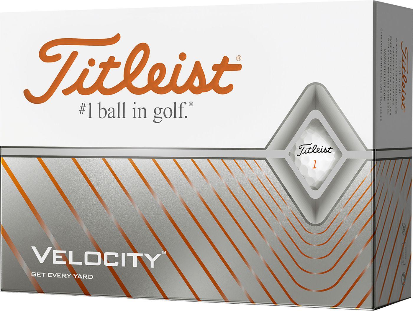 Titleist 2020 Velocity Golf Balls