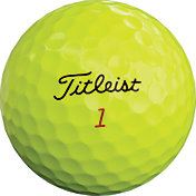 Titleist 2019 Pro V1x Optic Yellow Golf Balls - 3 Pack