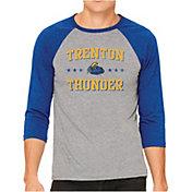 The Victory Men's Trenton Thunder Raglan Three-Quarter Sleeve Shirt