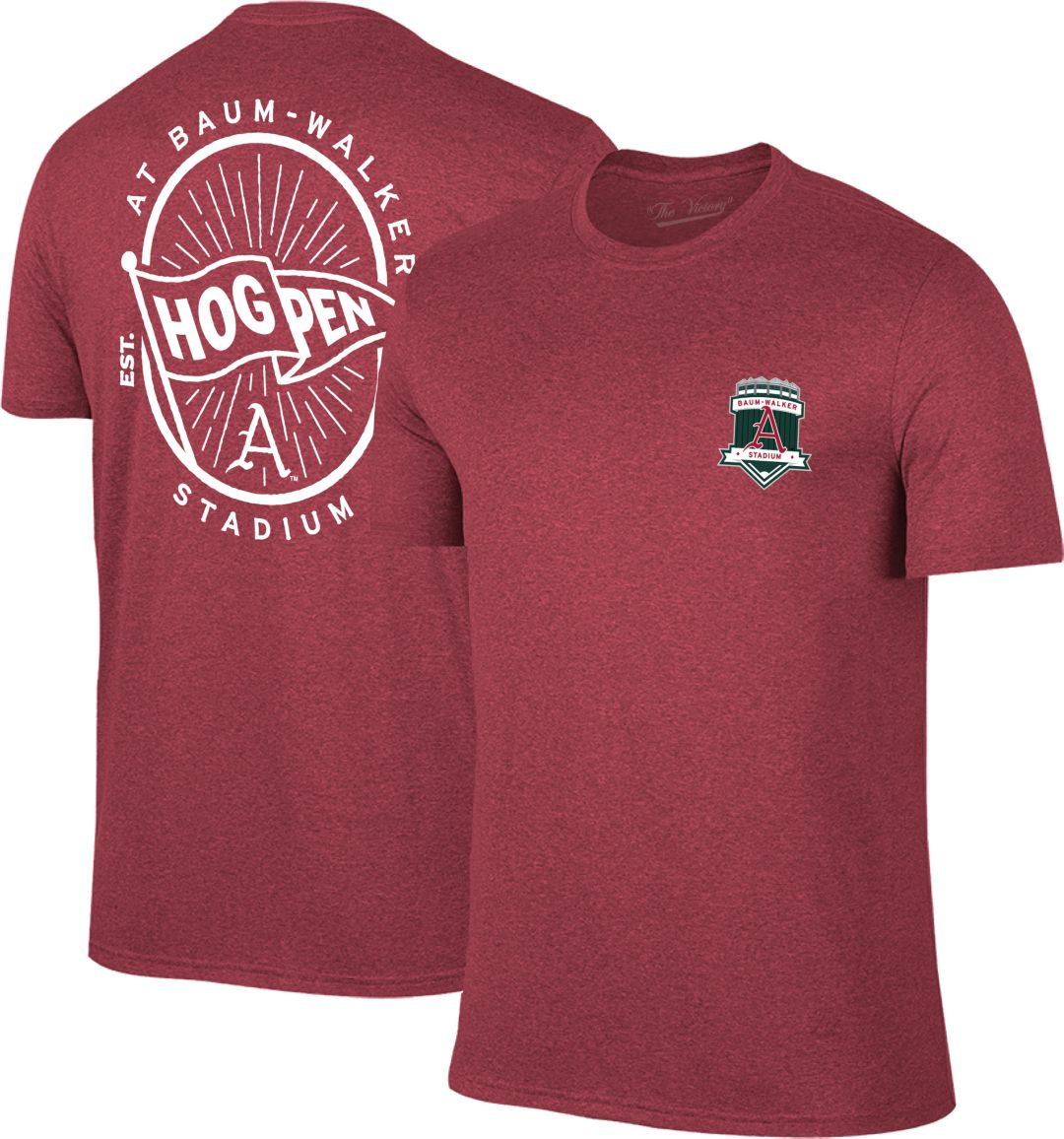 premium selection 75299 0f04b The Victory Men's Arkansas Razorbacks Cardinal Hog Pen Baseball T-Shirt